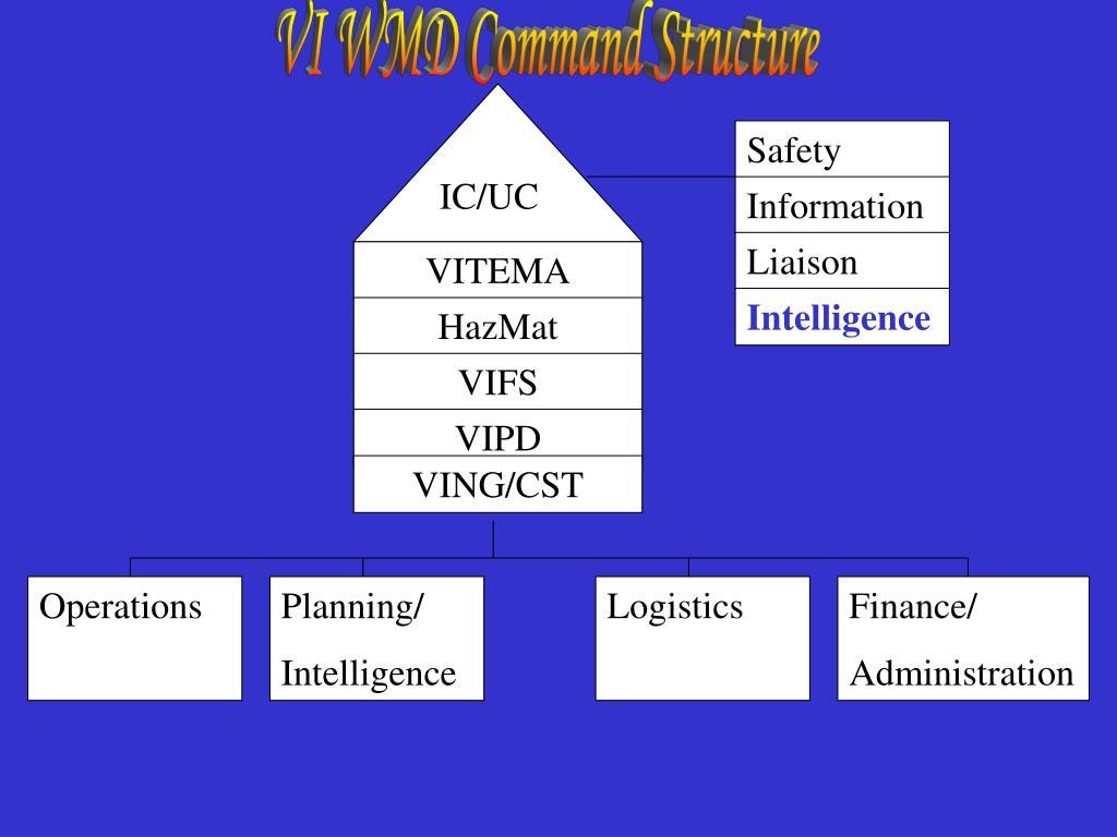 VI WMD Command Structure