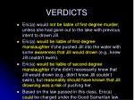 verdicts