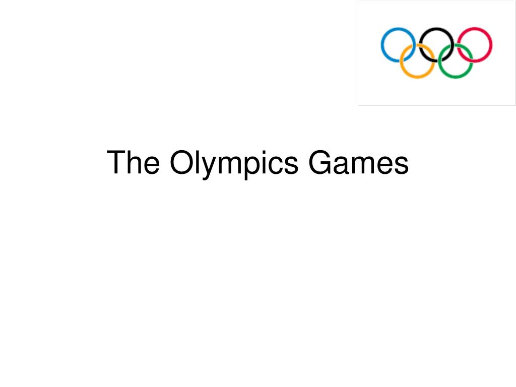 the olympics games l.