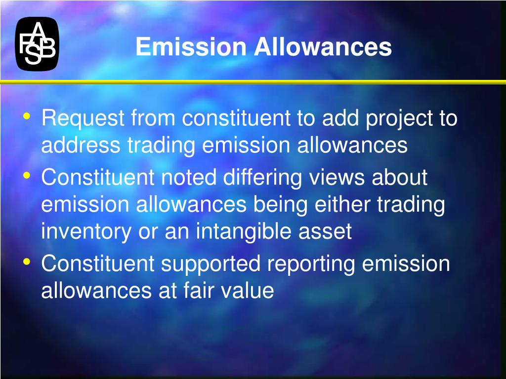 Emission Allowances