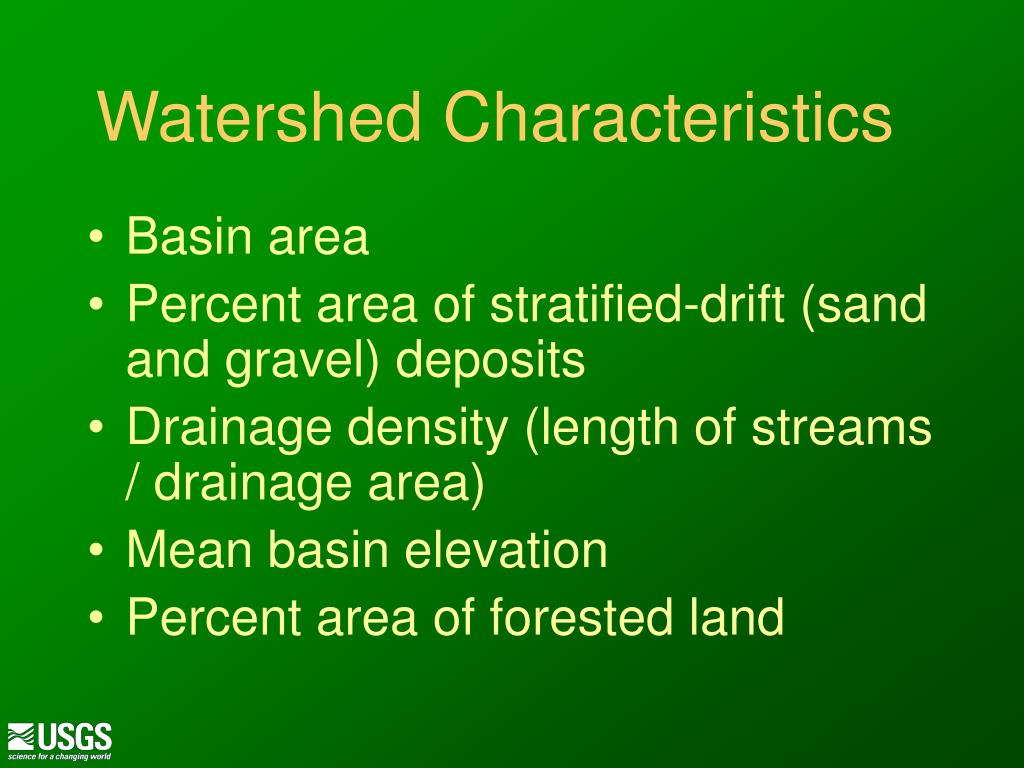 Watershed Characteristics