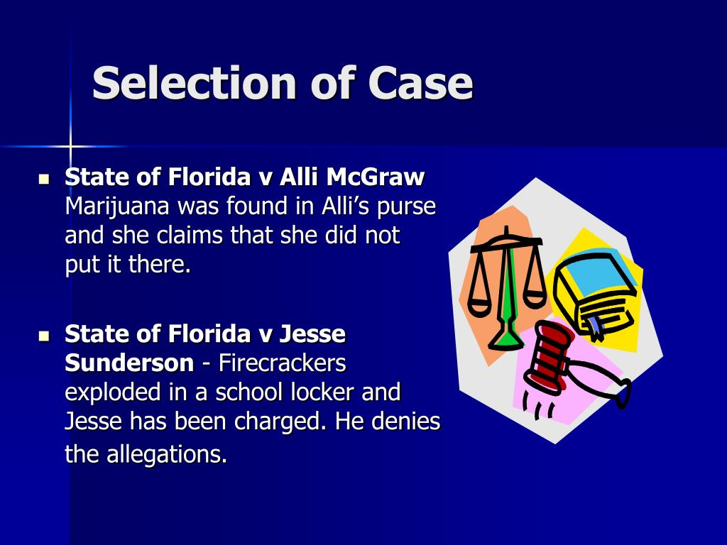 Selection of Case