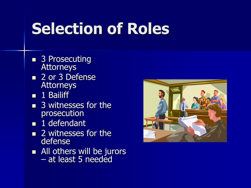 Selection of Roles