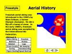 aerial history