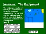 the equipment60