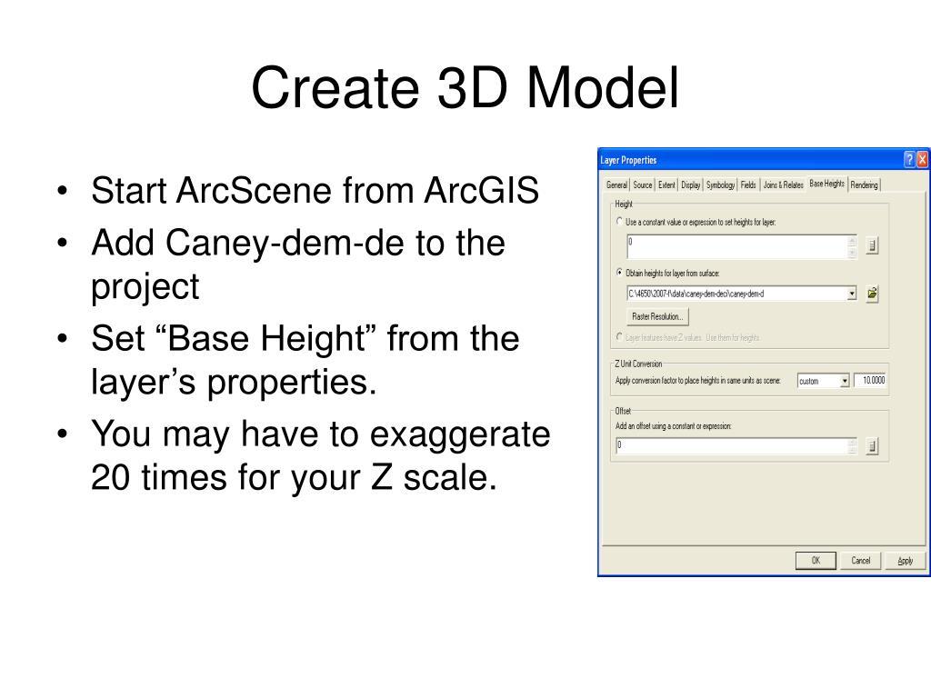 Create 3D Model