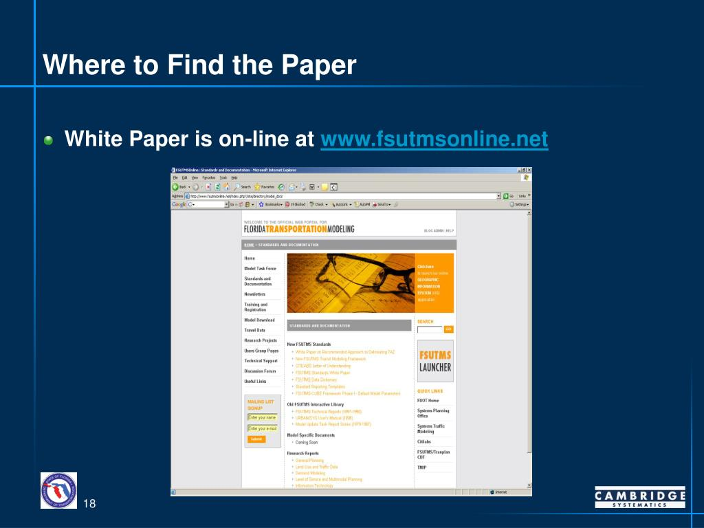 Where to Find the Paper