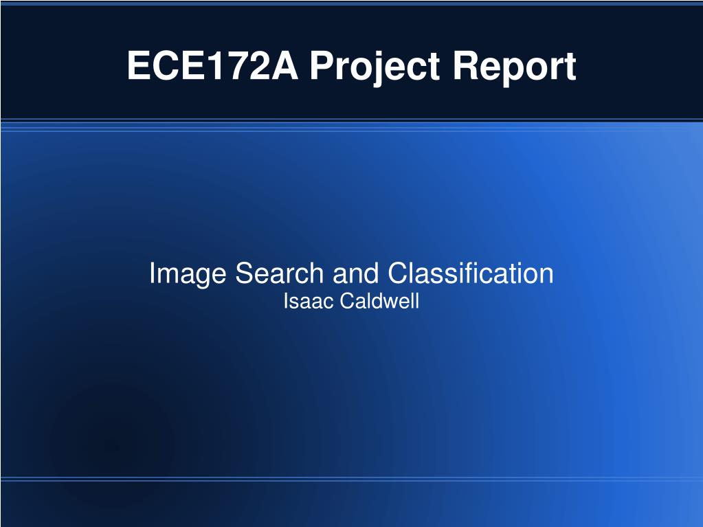 image search and classification isaac caldwell l.