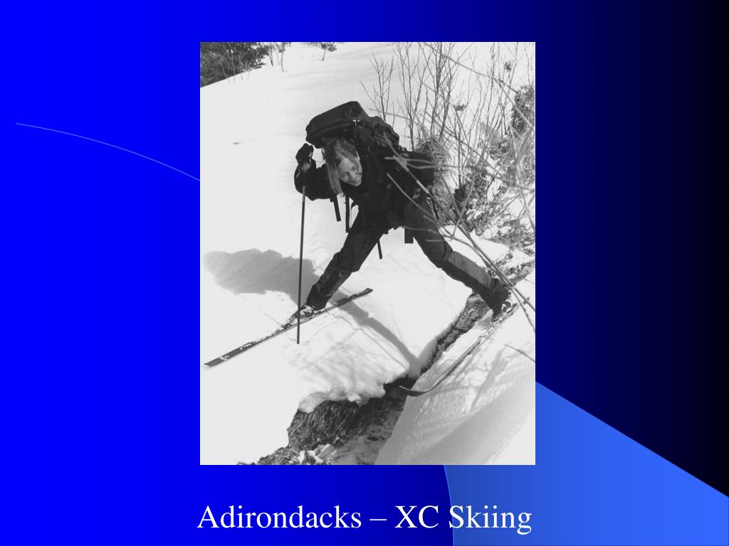 Adirondacks – XC Skiing