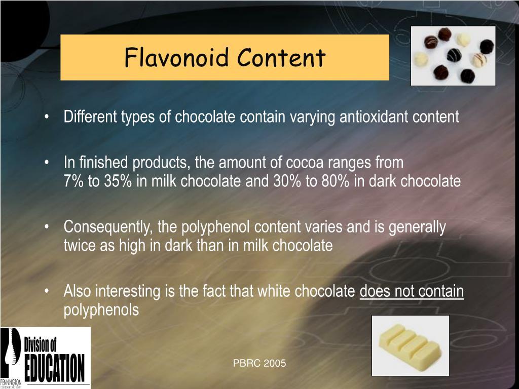 Flavonoid Content