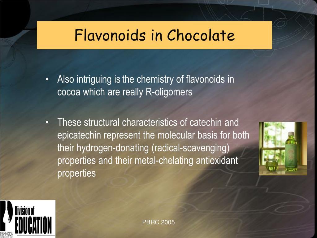 Flavonoids in Chocolate
