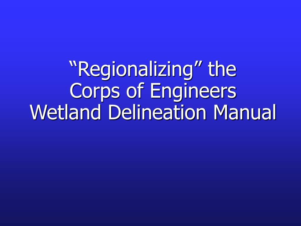 """Regionalizing"" the"