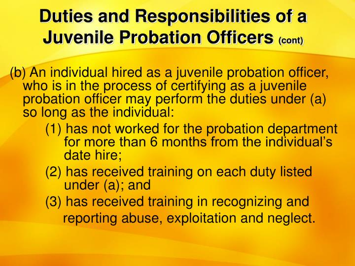 Best Probation Officer Job Description Contemporary  Best Resume