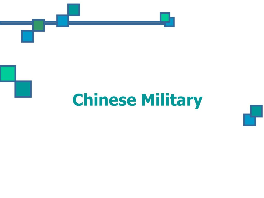 chinese military l.