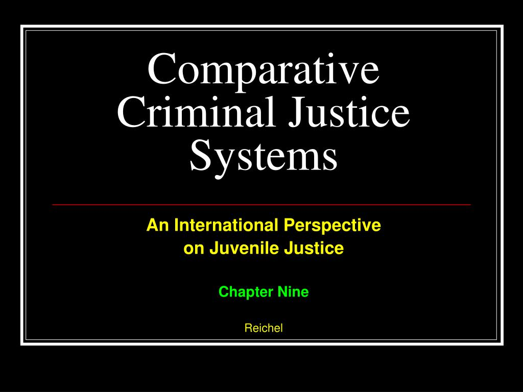 comparative criminal justice system Many countries around the world have used capital punishment in the past, or continue to use it today however, the numbers of countries that.