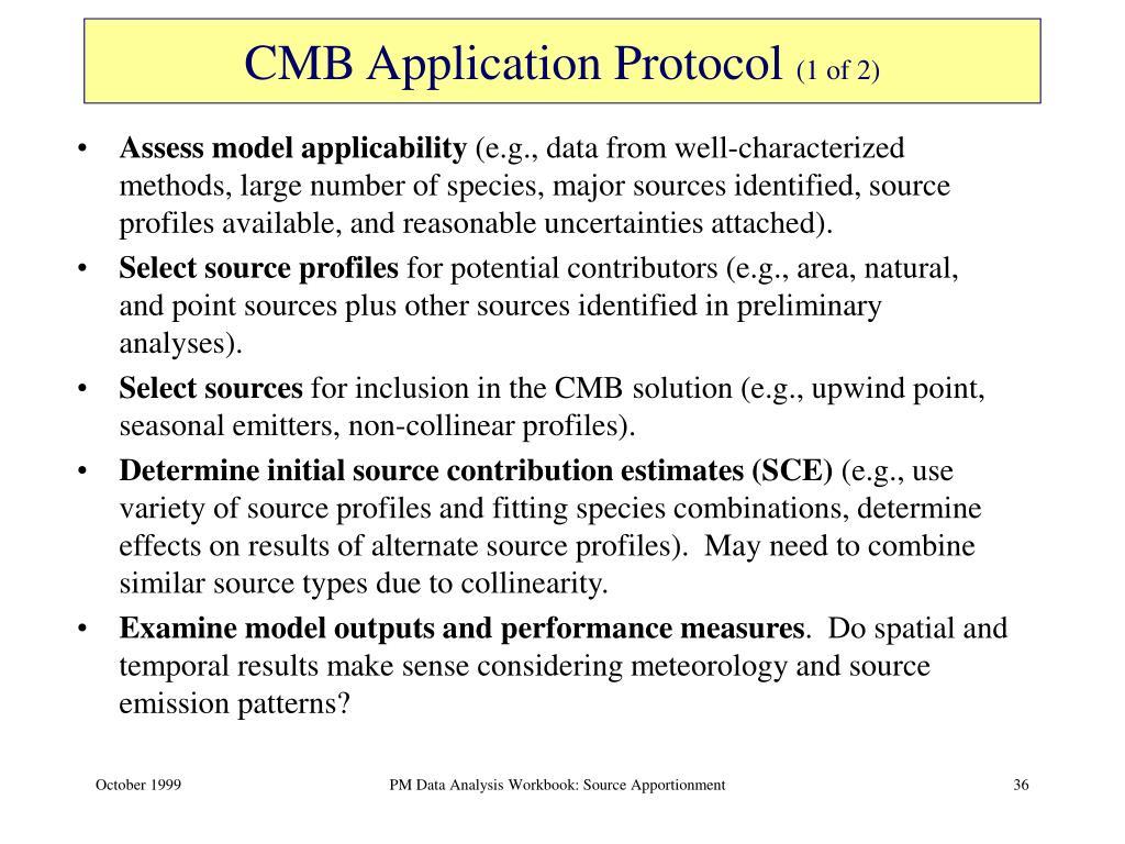 CMB Application Protocol