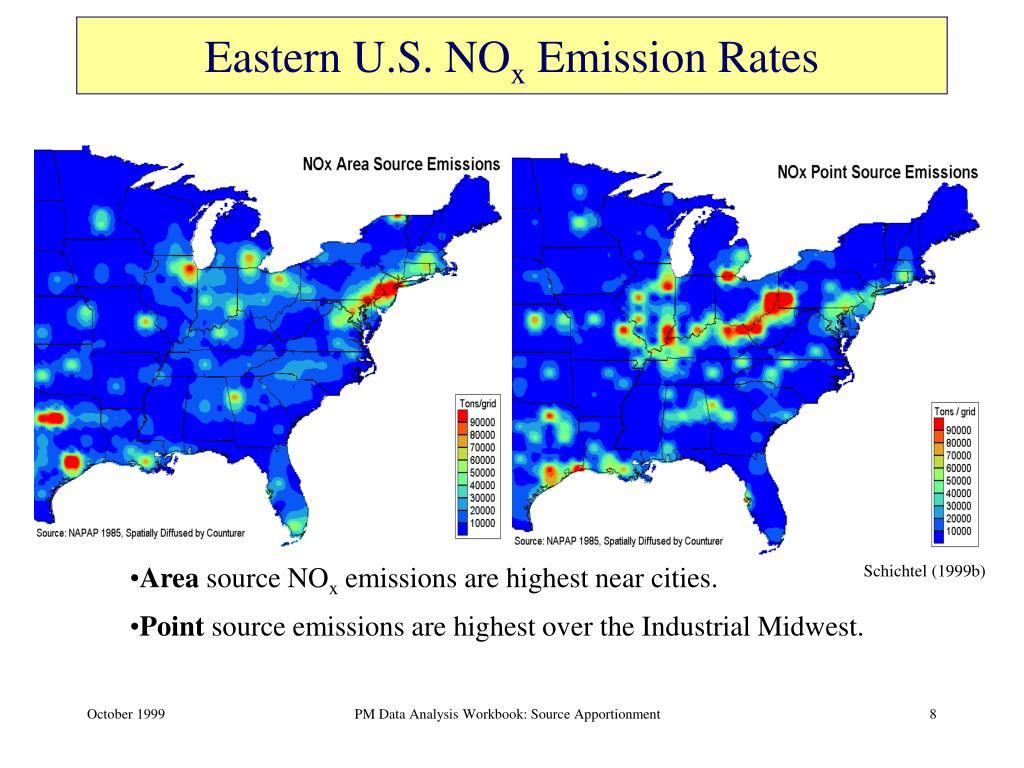 Eastern U.S. NO