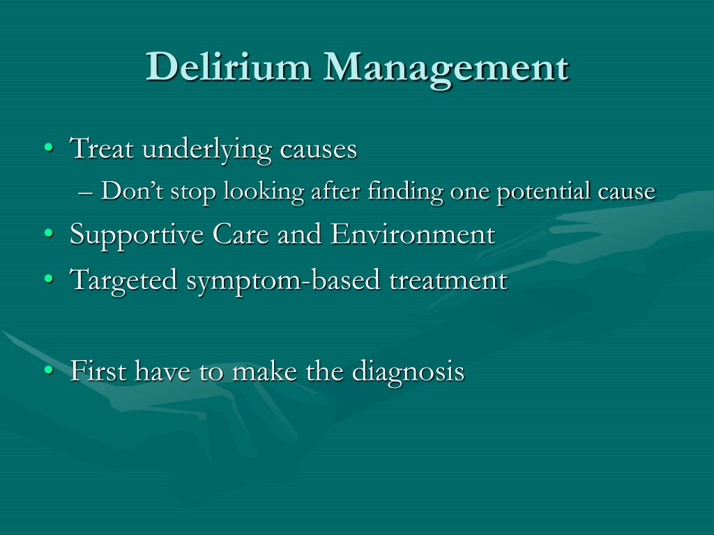 Delirium Management
