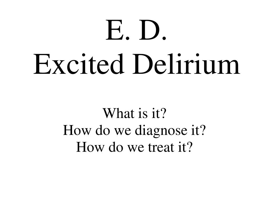 what is it how do we diagnose it how do we treat it l.