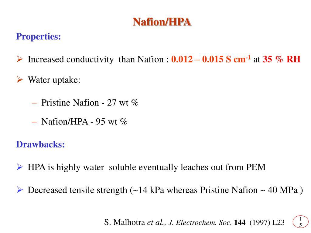 Nafion/HPA