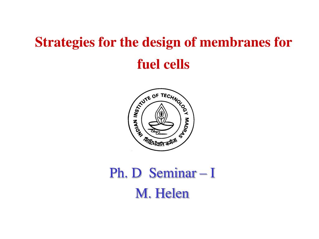 Strategies for the design of membranes for