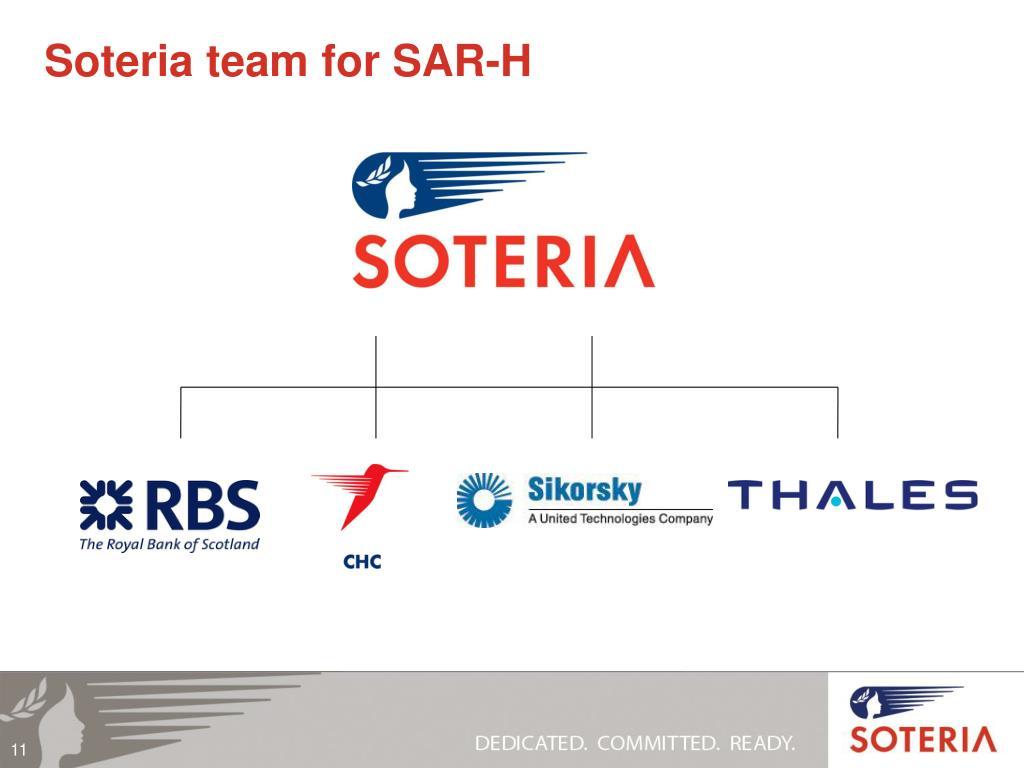 Soteria team for SAR-H
