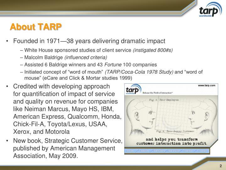 About tarp