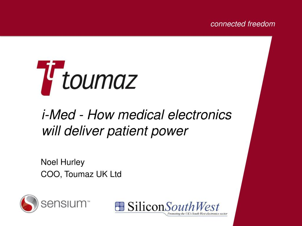 i-Med - How medical electronics will deliver patient power