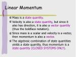 linear momentum5