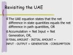revisiting the uae9