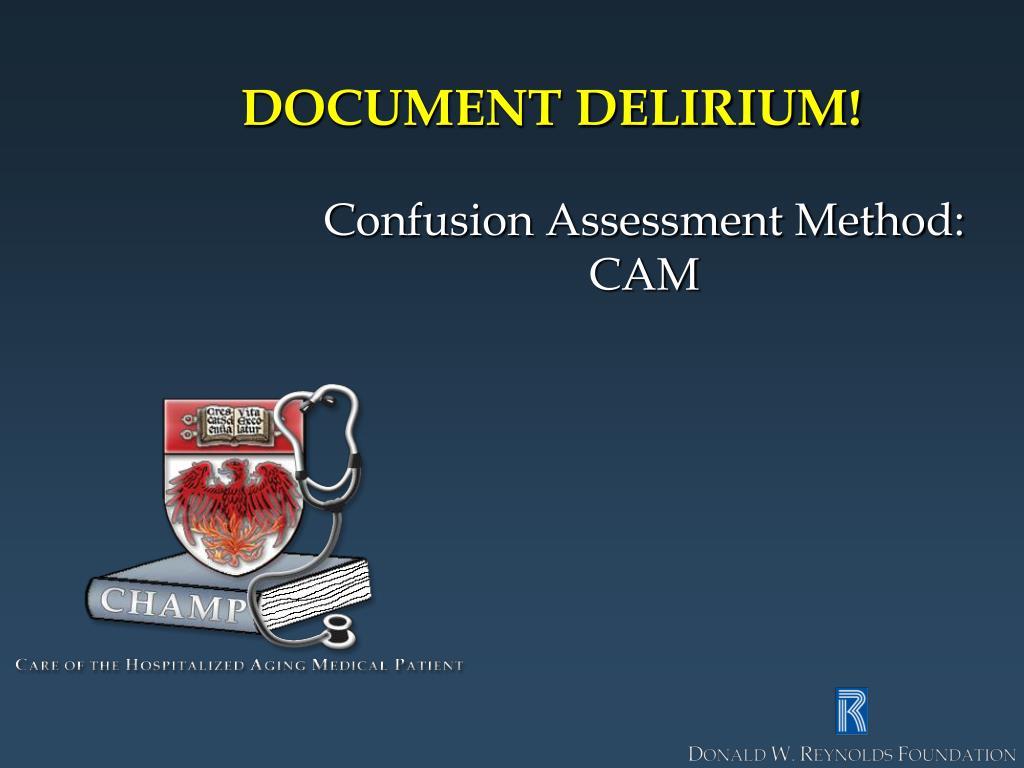 DOCUMENT DELIRIUM!