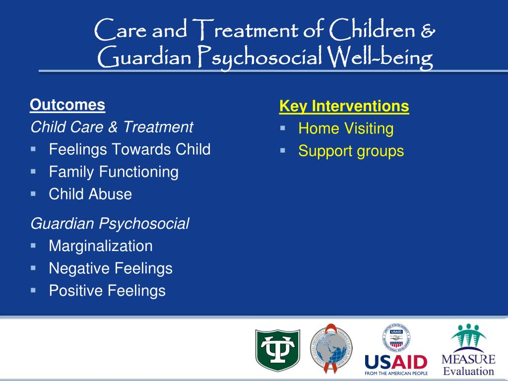 Care and Treatment of Children &