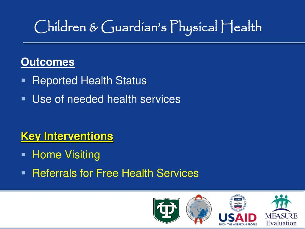 Children & Guardian's Physical Health