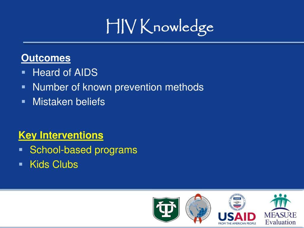 HIV Knowledge