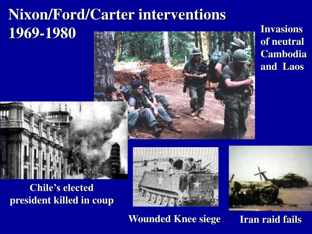 Nixon/Ford/Carter interventions