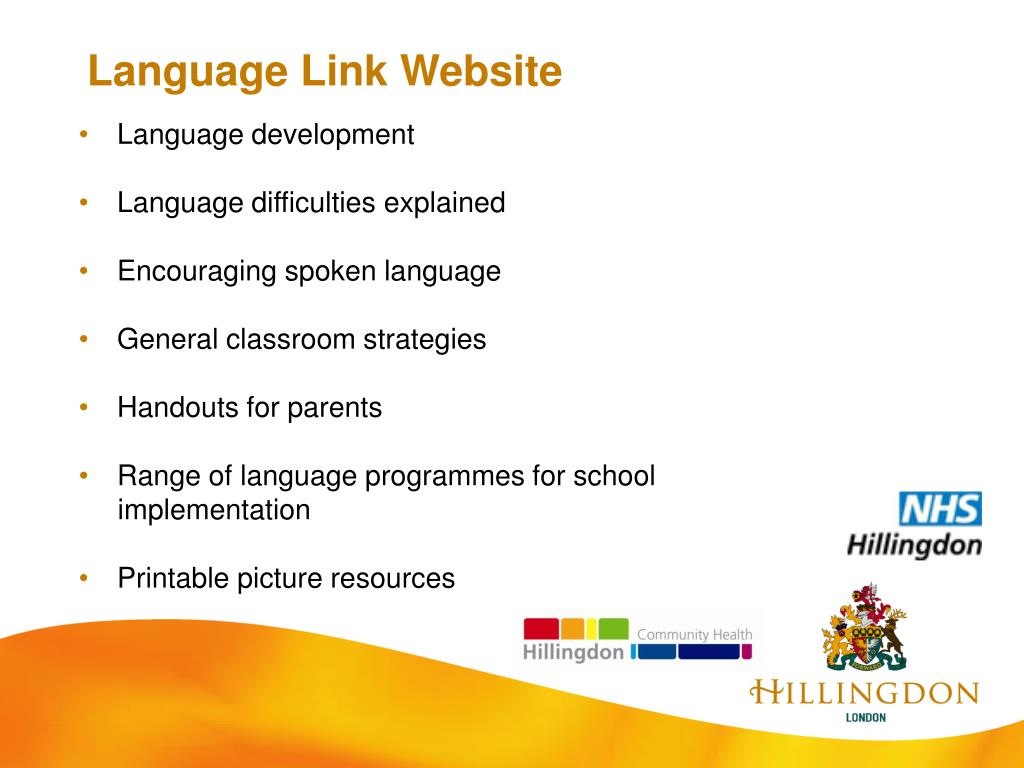 Language Link Website