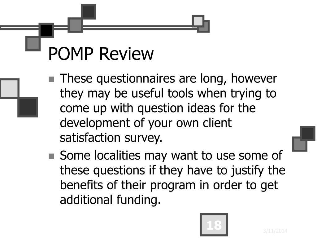 POMP Review