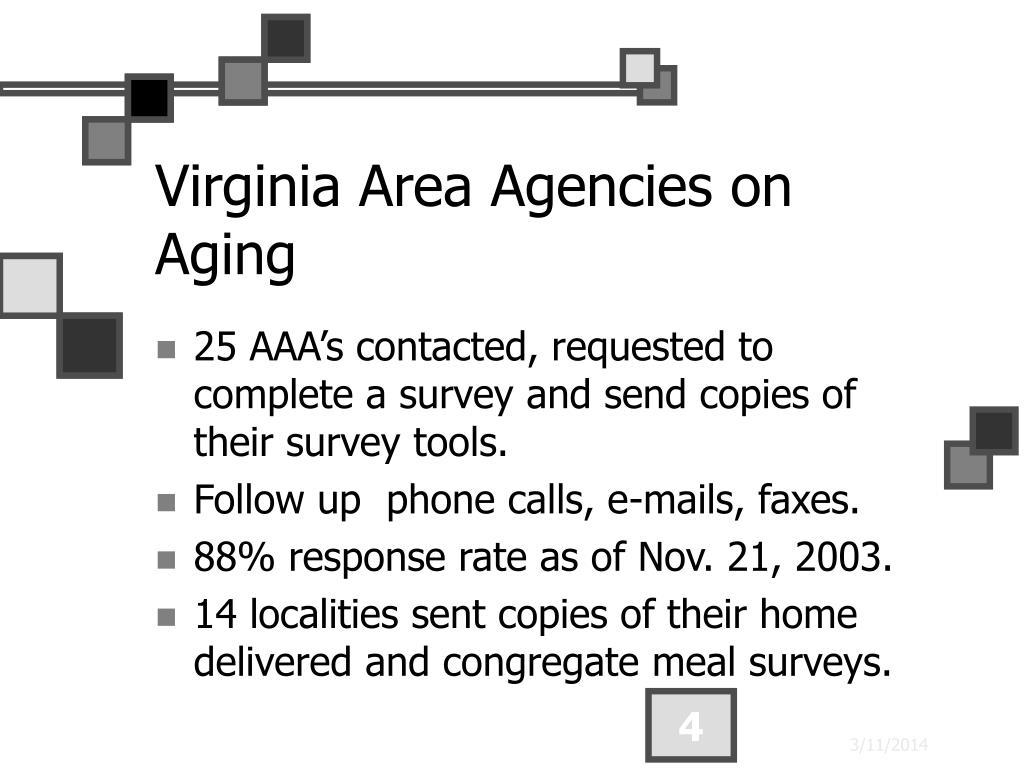 Virginia Area Agencies on Aging