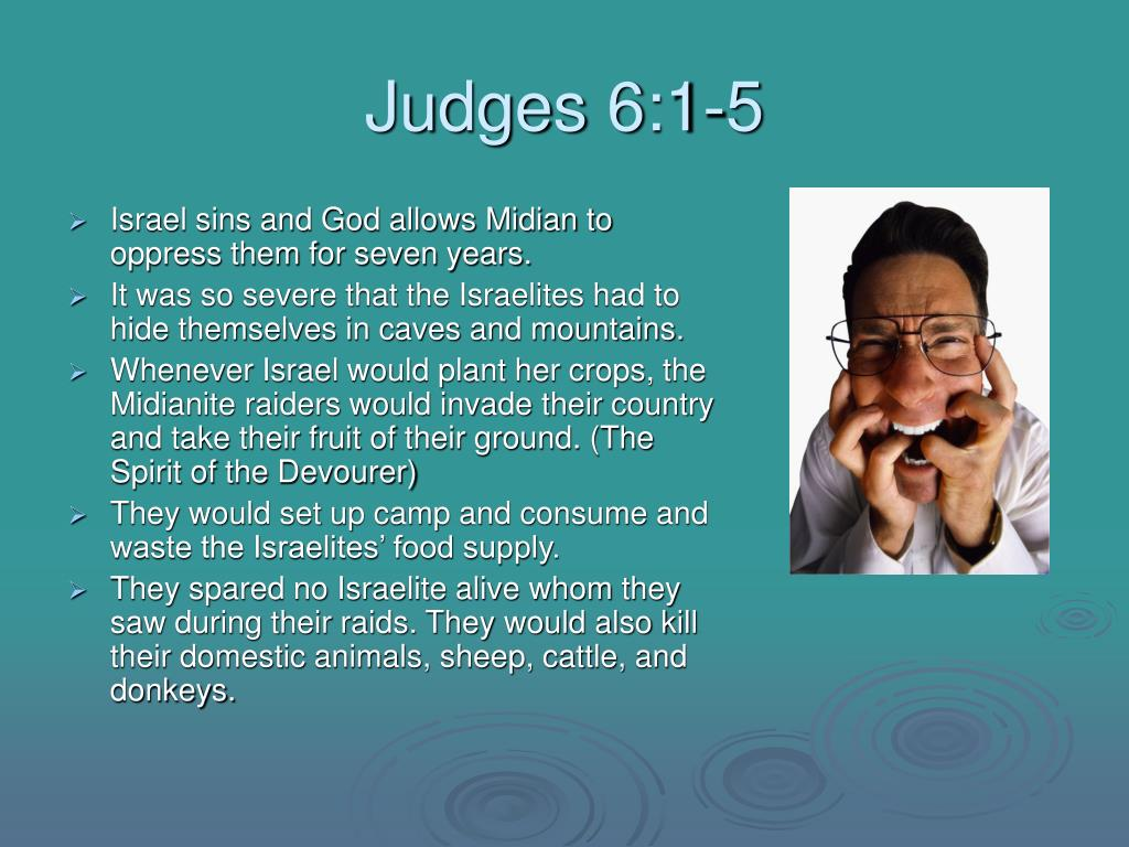 Judges 6:1-5