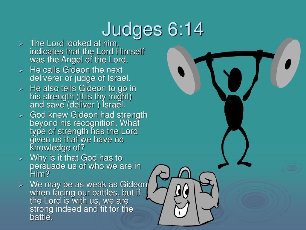 Judges 6:14