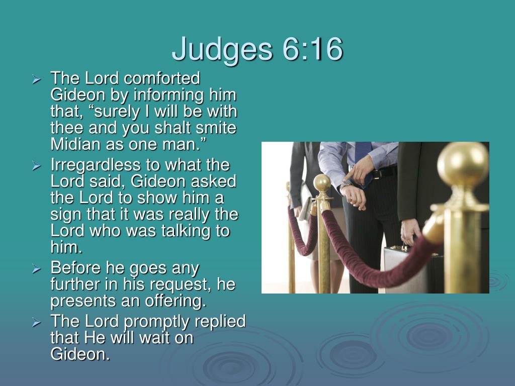 Judges 6:16