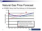 natural gas price forecast