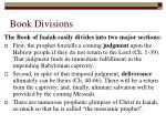 book divisions
