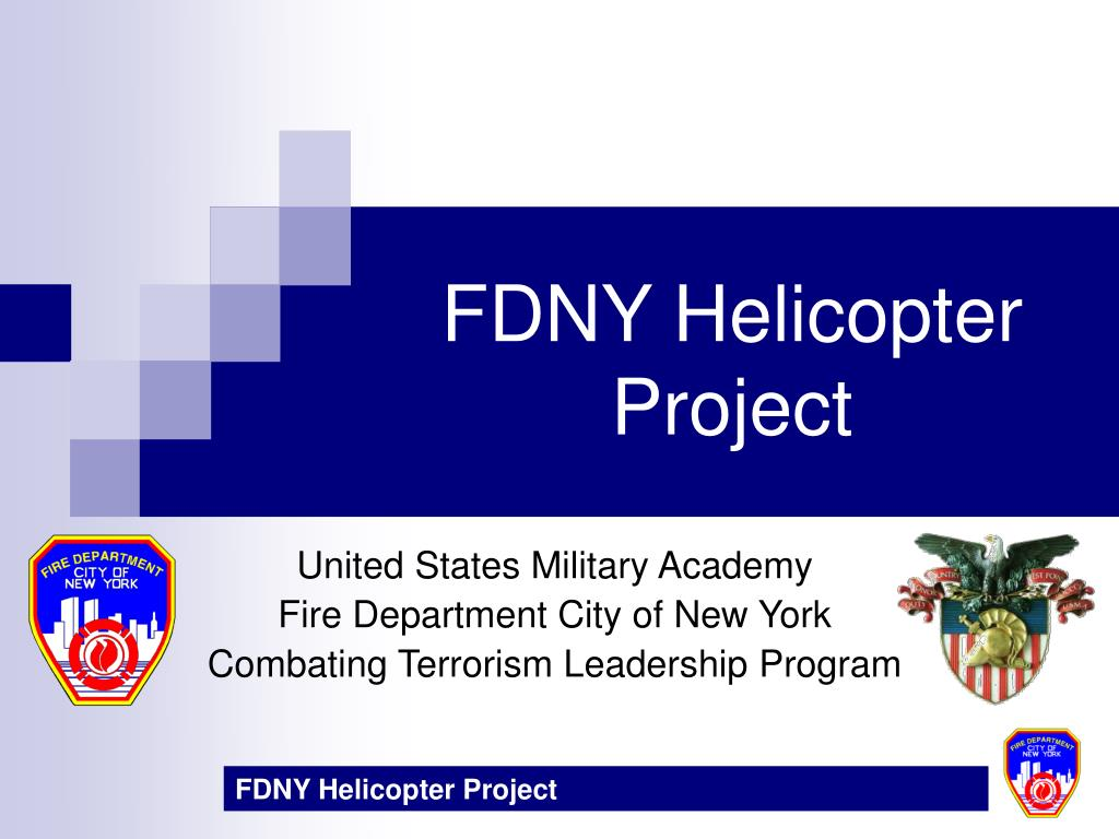 fdny helicopter project l.