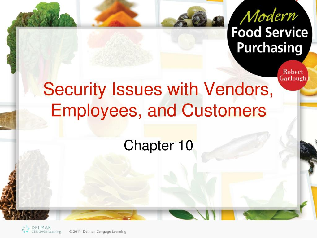security issues with vendors employees and customers l.