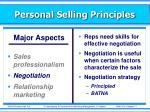 personal selling principles16