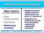 personal selling principles17