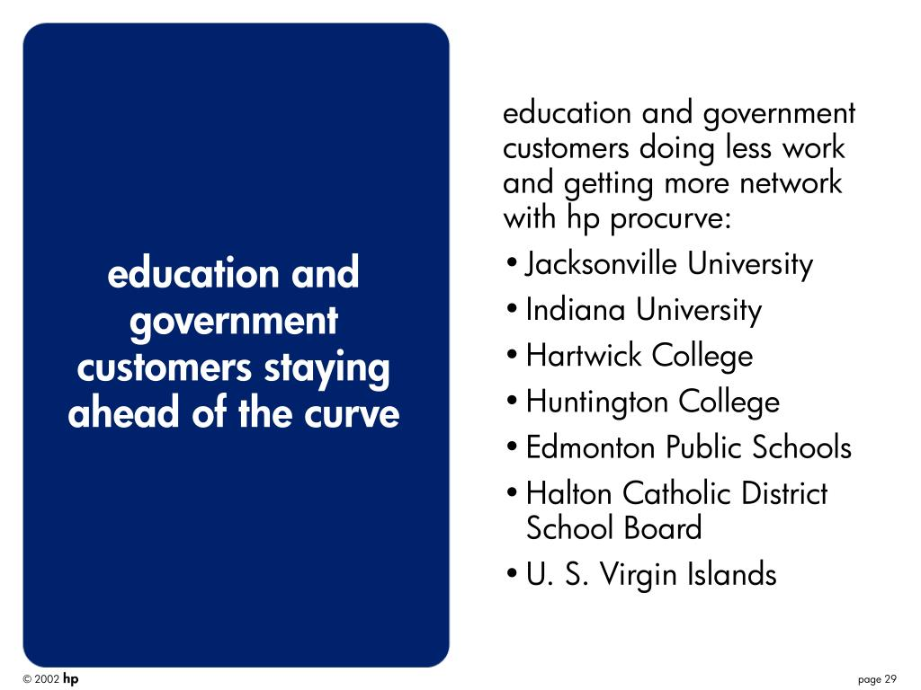 education and government