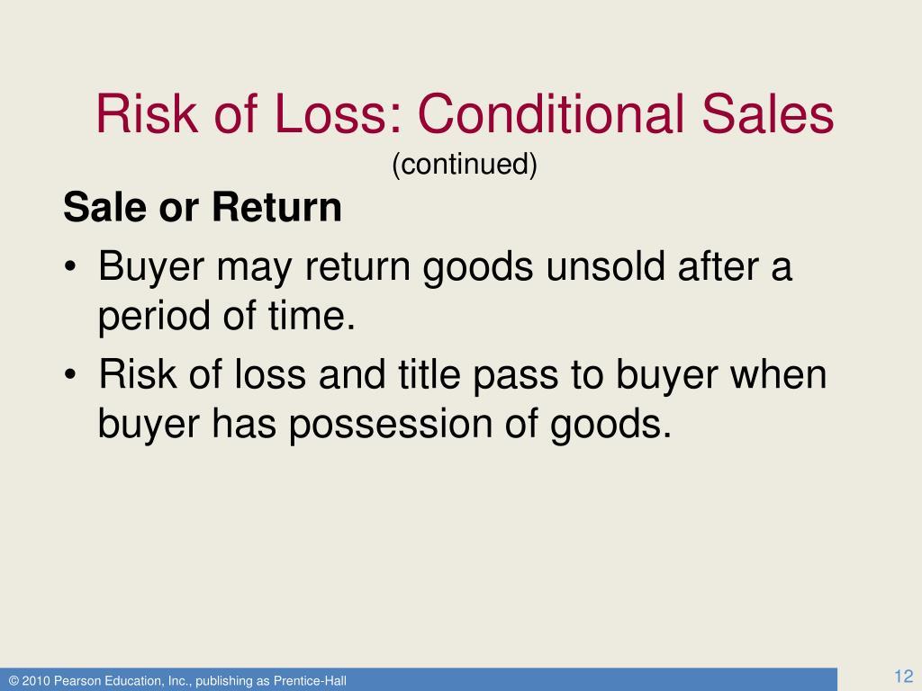 Sale or Return