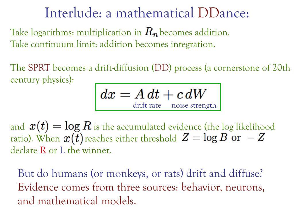 Interlude: a mathematical